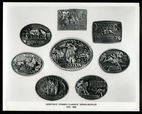 "Hesston's ""Cowboy Classics"" series belt buckles - Page"