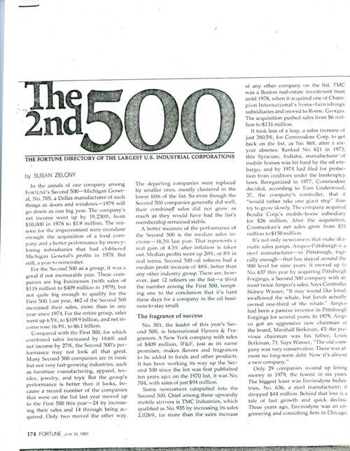 Fortune Magazine, June 16, 1980 - Page