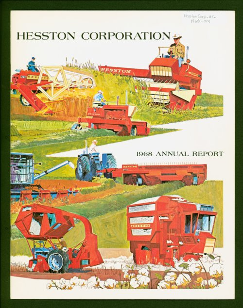 Hesston annual report - Page