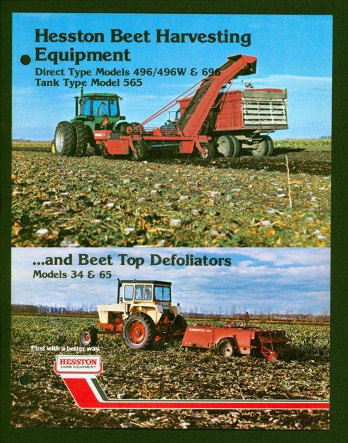 Beet harvesting flyer - Page