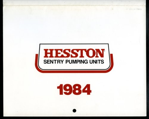 Hesston 1984 calendar - Page