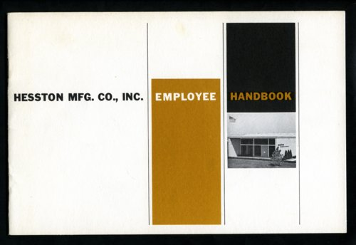Hesston employee handbook - Page