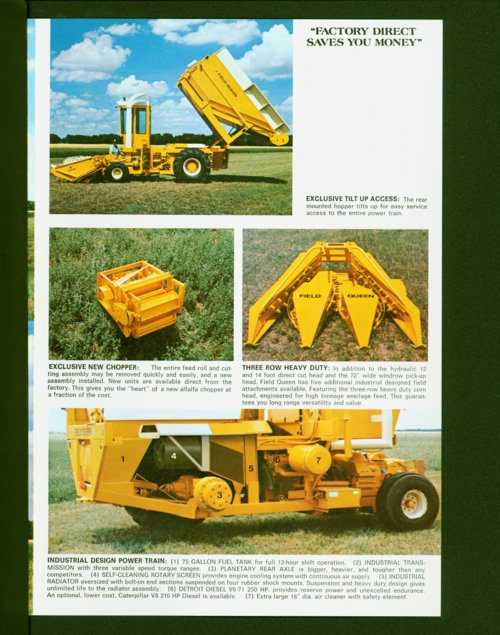 Field Queen flyer - Page