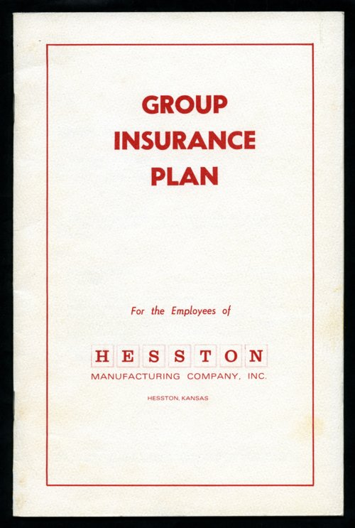 Hesston insurance plan - Page