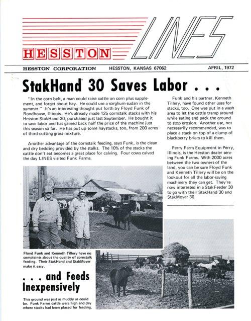 Hesston Corporation newsletter - Page