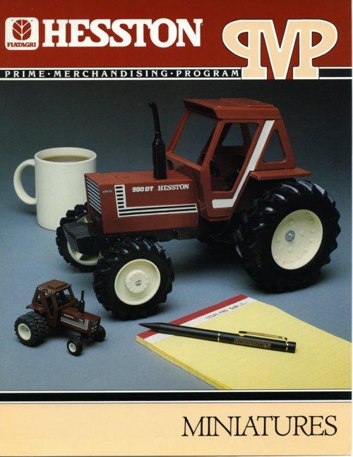 Hesston Corporation miniatures brochure - Page
