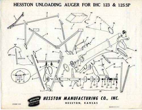 Unloading auger diagram - Page