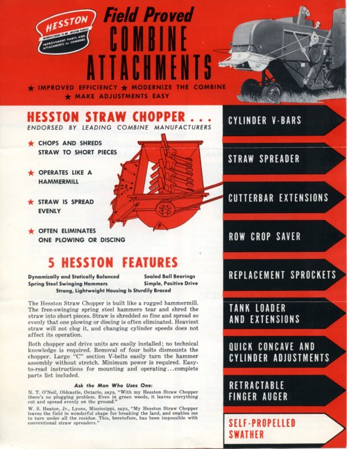 Combine attachments flyer - Page