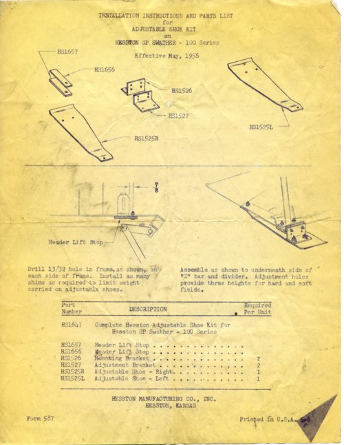 Shoe kit instructions - Page