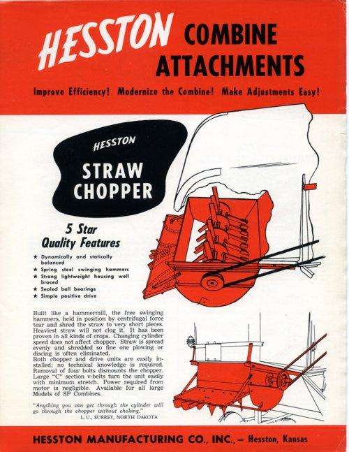 Combine attachements flyer - Page