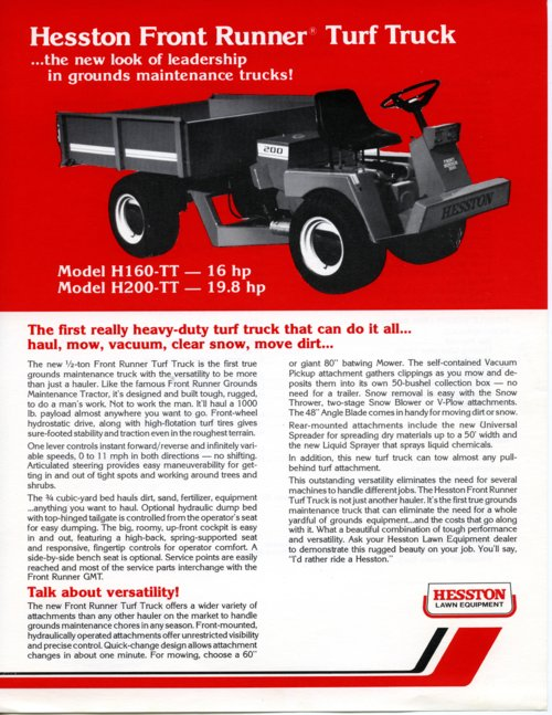 Turf truck flyer - Page