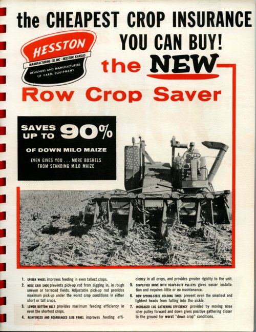 Row crop saver flyer - Page