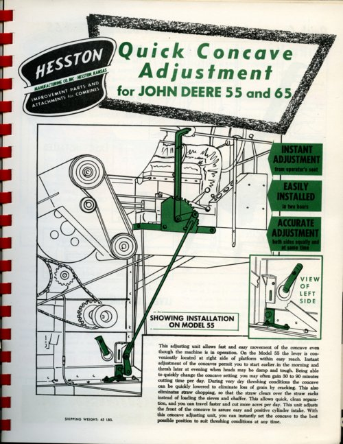 Quick concave adjustment flyer - Page