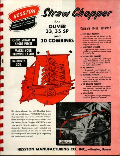 Straw chopper flyer - Page