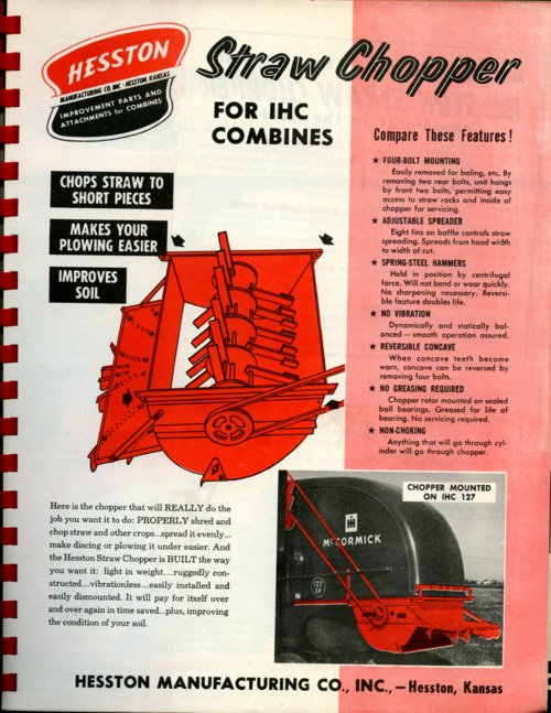Straw chopper flyer - Page