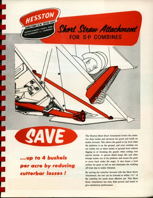 Short straw attachment flyer - Page