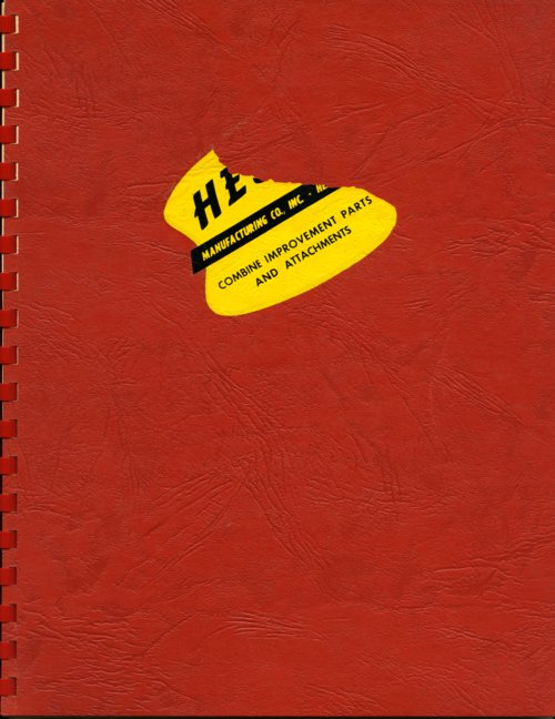 Hesston Manufacturing Company product brochure - Page