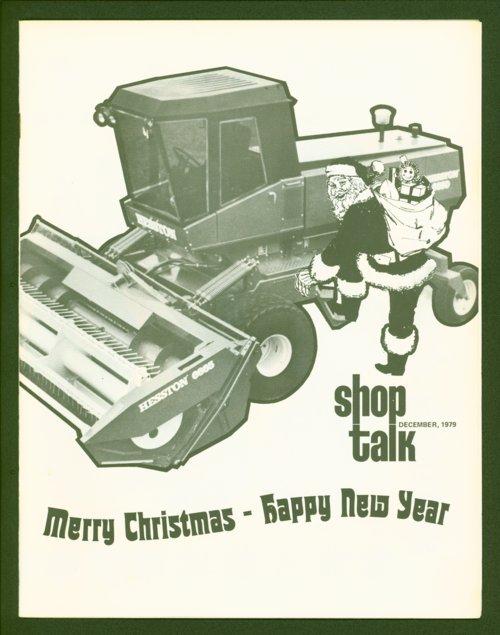 Shop Talk, December 1979, newsletter - Page