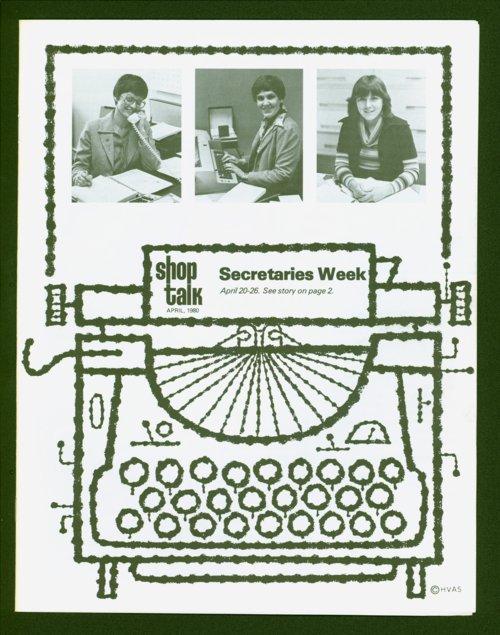 Shop Talk, April 1980, newsletter - Page