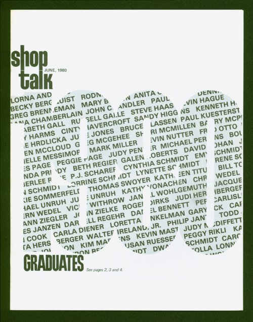 Shop Talk, June 1980, newsletter - Page