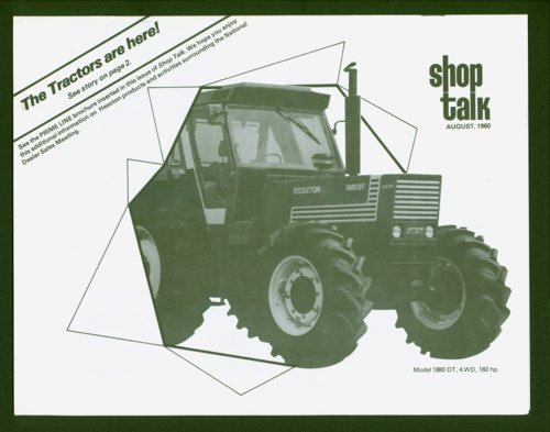 Shop Talk, August 1980, newsletter - Page