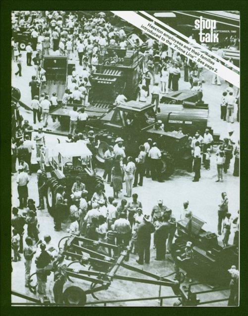 Shop Talk, September 1980, newsletter - Page