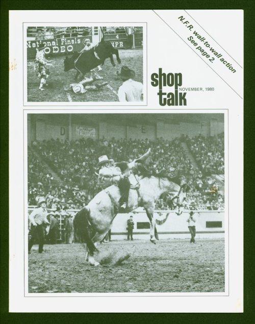 Shop Talk, November 1980, newsletter - Page