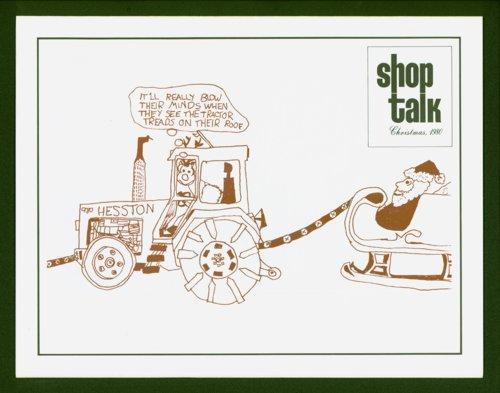Shop Talk, December 1980, newsletter - Page