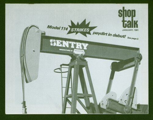Shop Talk, January 1981, newsletter - Page