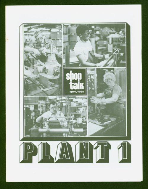 Shop Talk, April 1981, newsletter - Page