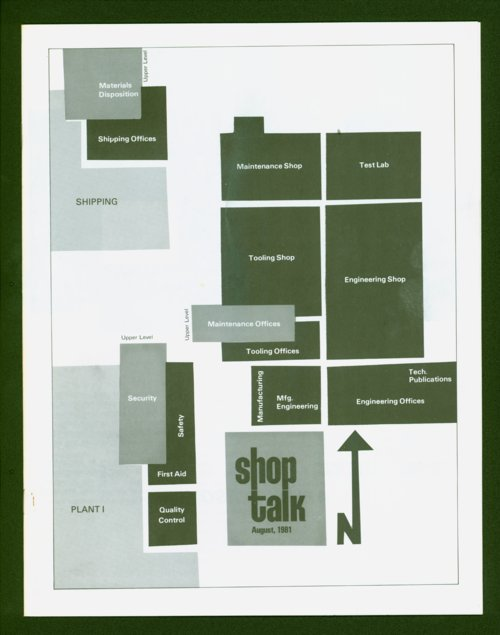 Shop Talk, August, 1981 newsletter - Page