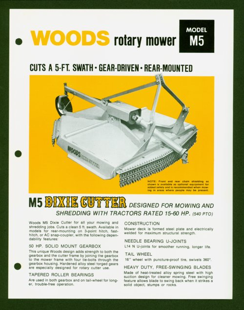 Woods product flyer - Page