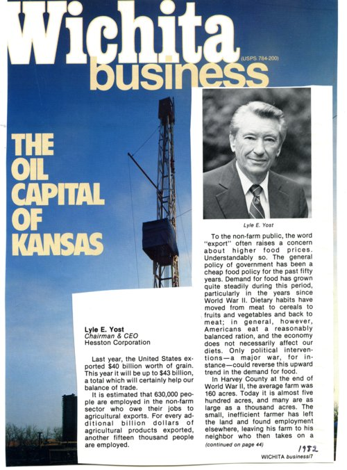Wichita Business magazine - Page