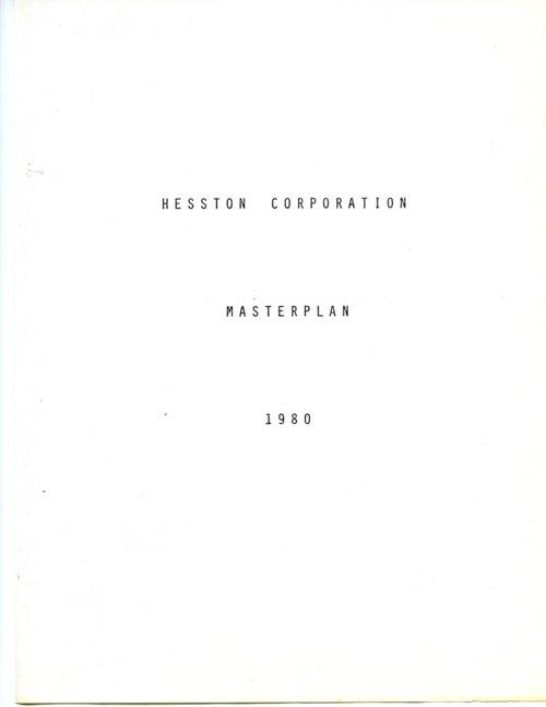 Hesston Corporation masterplan - Page