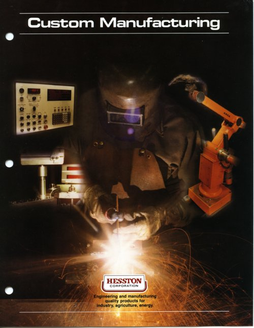 Hesston Corporation brochure - Page