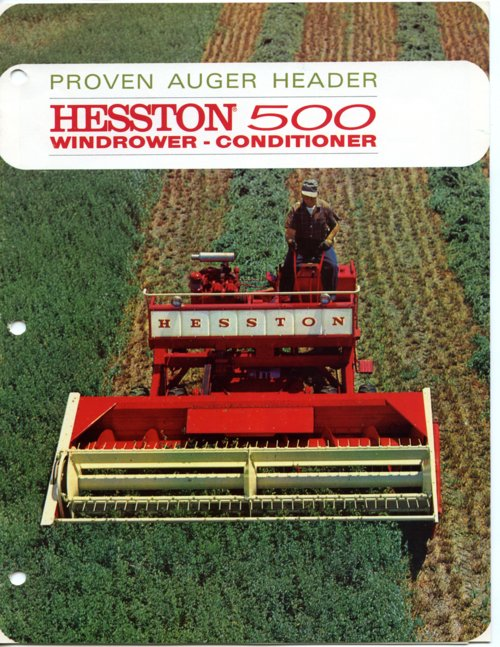 Hesston Company booklet - Page