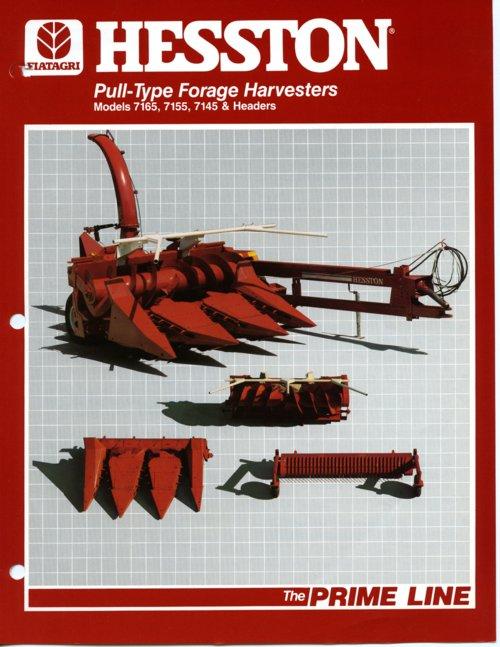 FiatAgri Hesston product brochure - Page