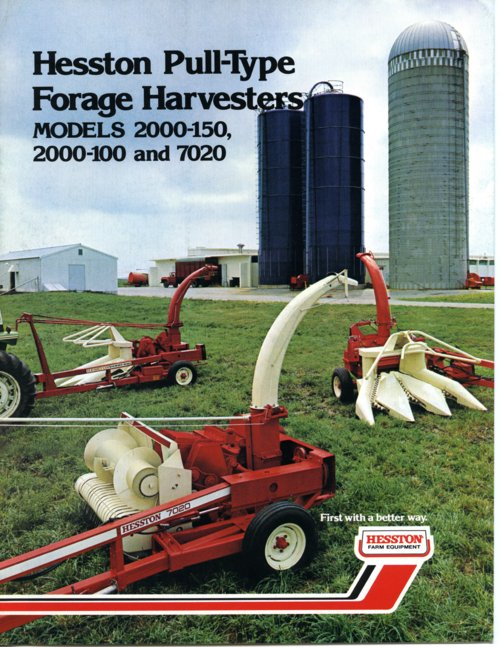 Hesston Corporation brochure - Page