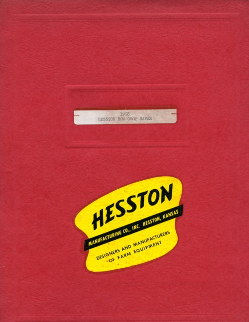 Hesston  Manufacturing Company booklet - Page
