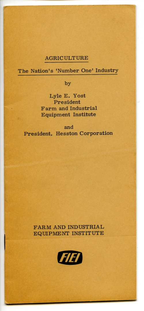 Agriculture booklet - Page