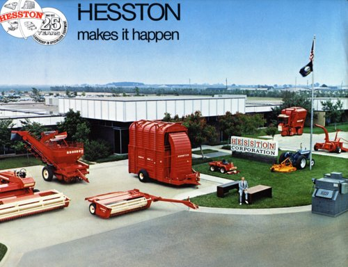 Hesston Corporation booklet - Page