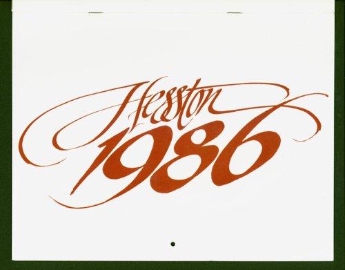 FiatAgri Hesston calendar - Page
