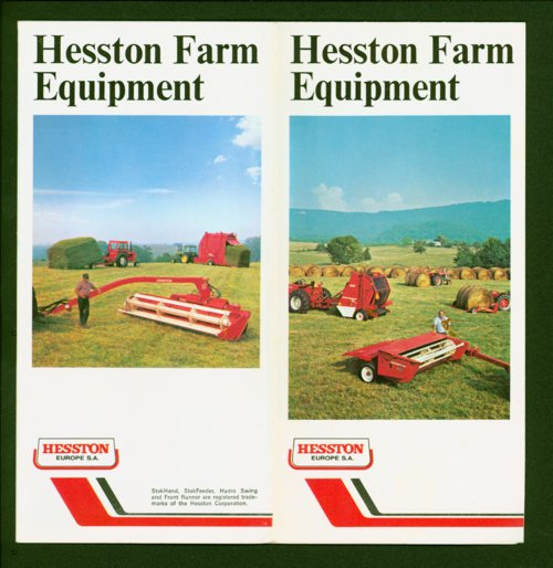 Hesston farm equipement flyer - Page