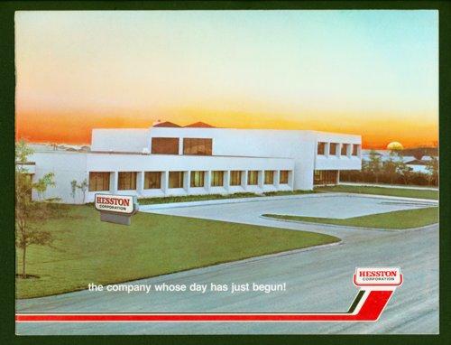 Hesston Corporation marketing book - Page