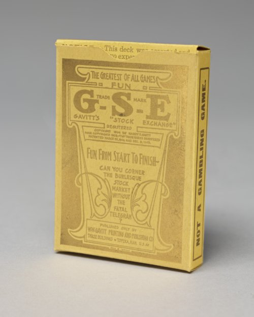 Gavitt's Stock Exchange card game - Page