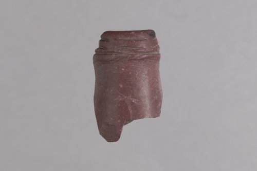 Pipestone Pipe Fragment from 14MN324 - Page