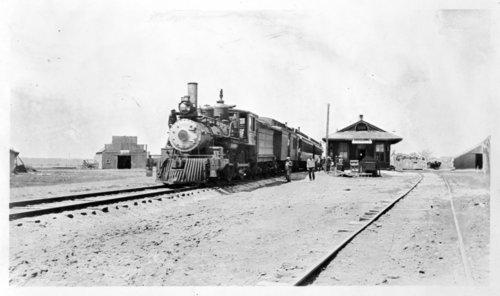 Harris, Kansas depot - Page