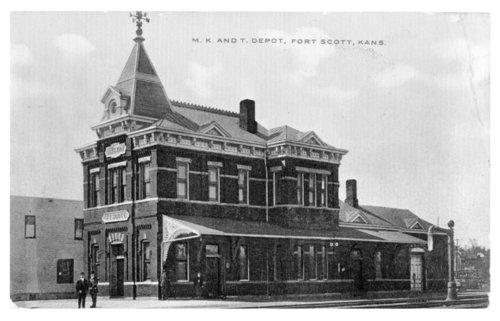 Missouri-Kansas-Texas Railroad depot, Fort Scott, Kansas - Page