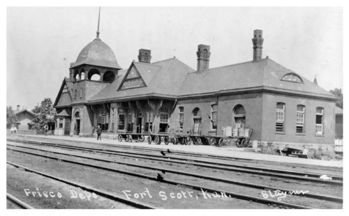 St. Louis-San Francisco Railway depot, Fort Scott, Kansas - Page