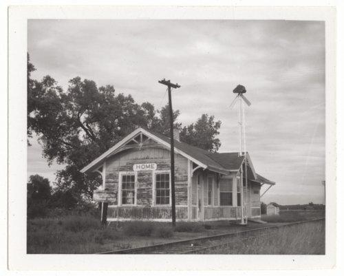 Union Pacific Railroad Company depot, Home, Kansas - Page